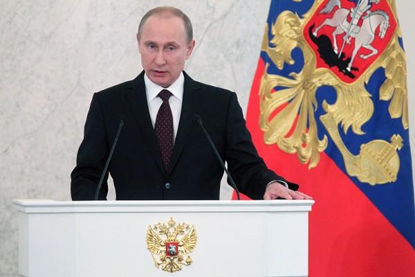 Жители объединились вокруг патриотических ценностей— Путин