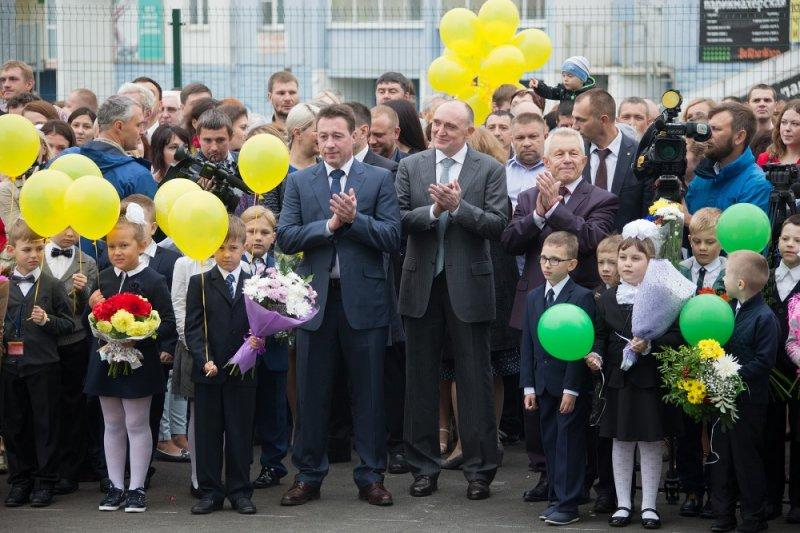 Холманских иДубровский открыли вЧелябинске наибольшую  школу вУрФО