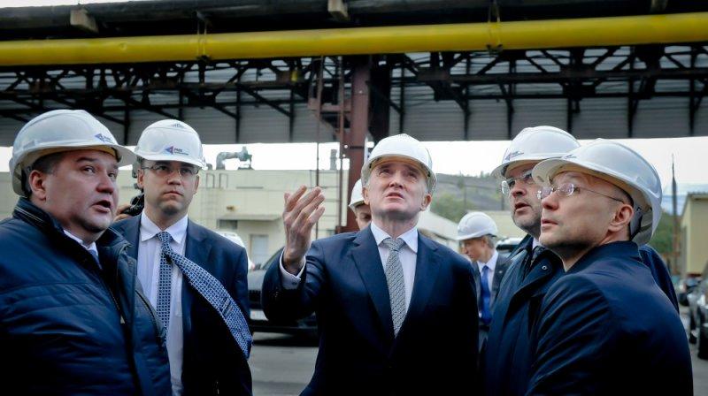 Дубровский иАлтушкин открыли спорткомплекс вКарабаше