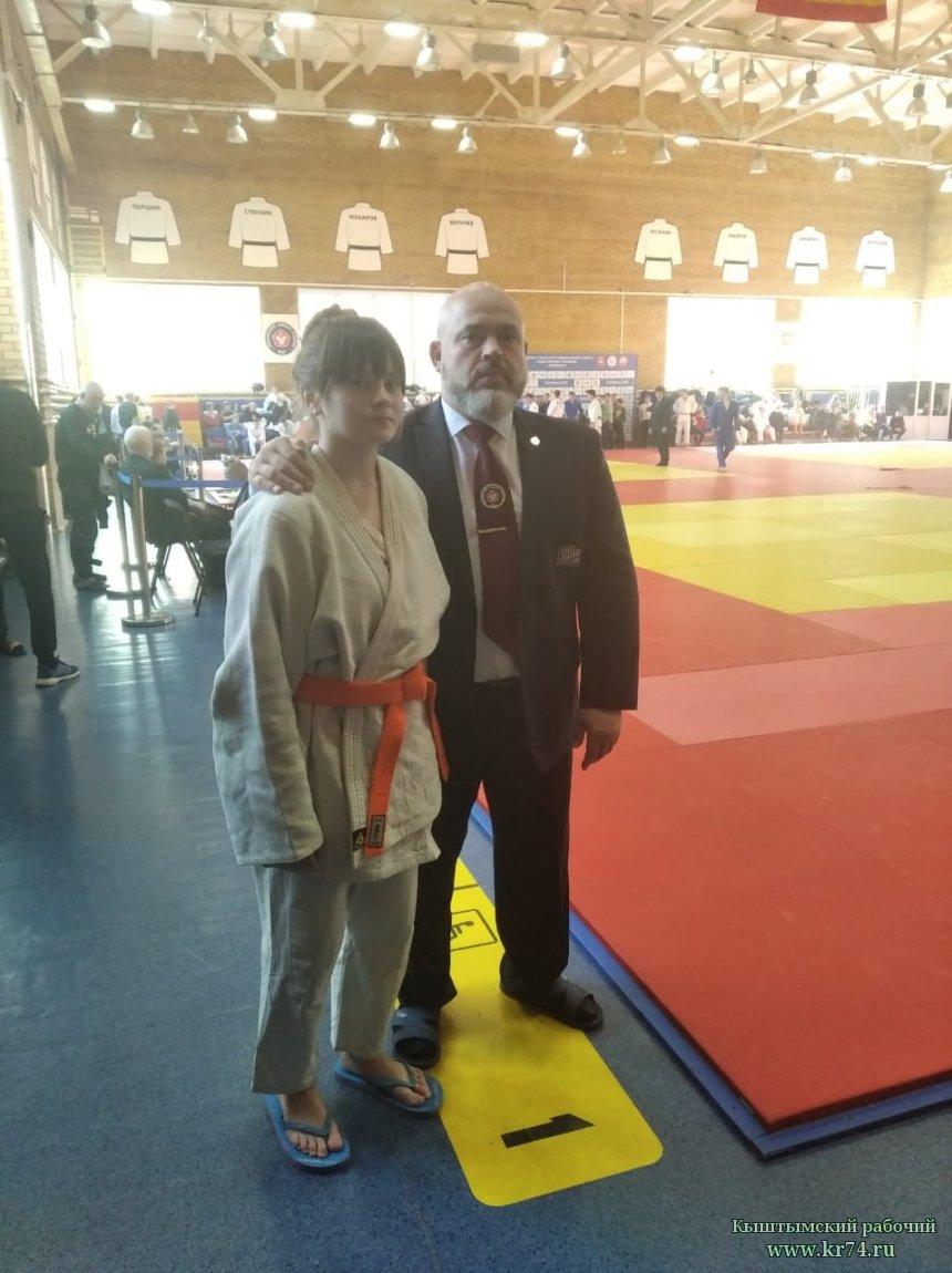 Ксения Приймак из Кыштыма прошла отбор в сборную команду Челябинской области по дзюдо