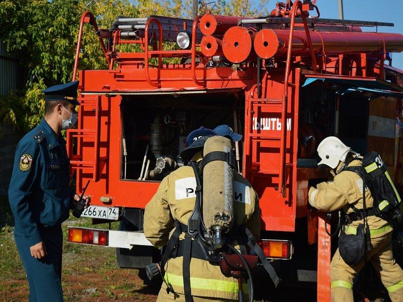 В Кыштыме проверили готовность спасательных служб к чрезвычайным ситуациям
