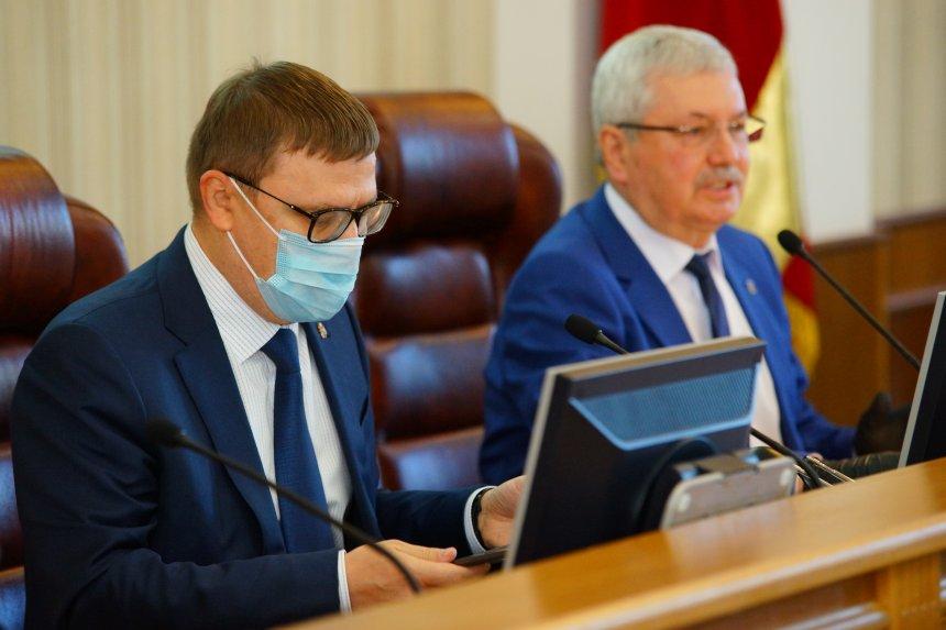 Губернатор Алексей Текслер встретился с избранными депутатами Заксобрания Челябинской области