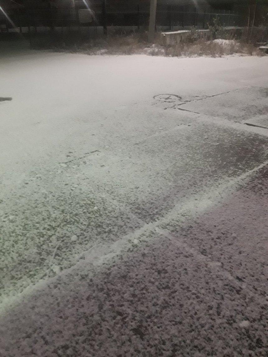 В Кыштыме выпал первый снег: прогноз погоды на сегодня, 22 октября