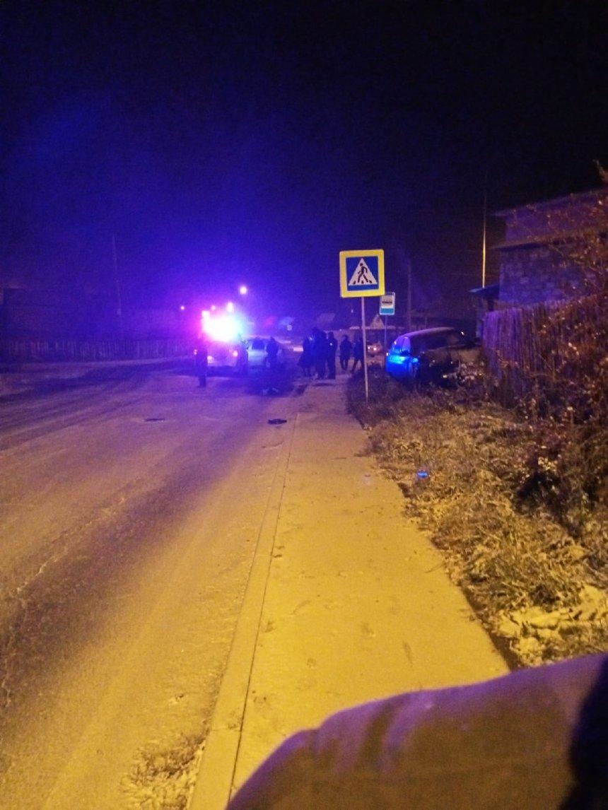 В Кыштыме автоледи пострадала в серьёзной аварии