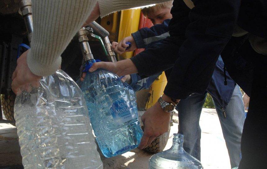 В Кыштыме сегодня будет осуществляться подвоз воды жителям Тайгинки