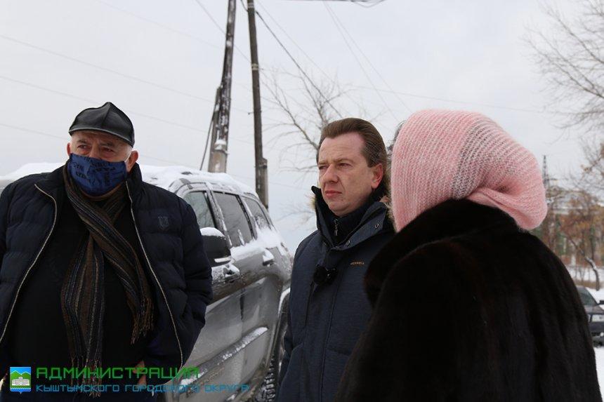 Кыштым посетил депутат Госдумы Владимир Бурматов