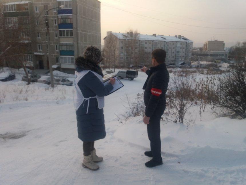 ГИБДД Кыштыма выявила семь опасных снежных горок