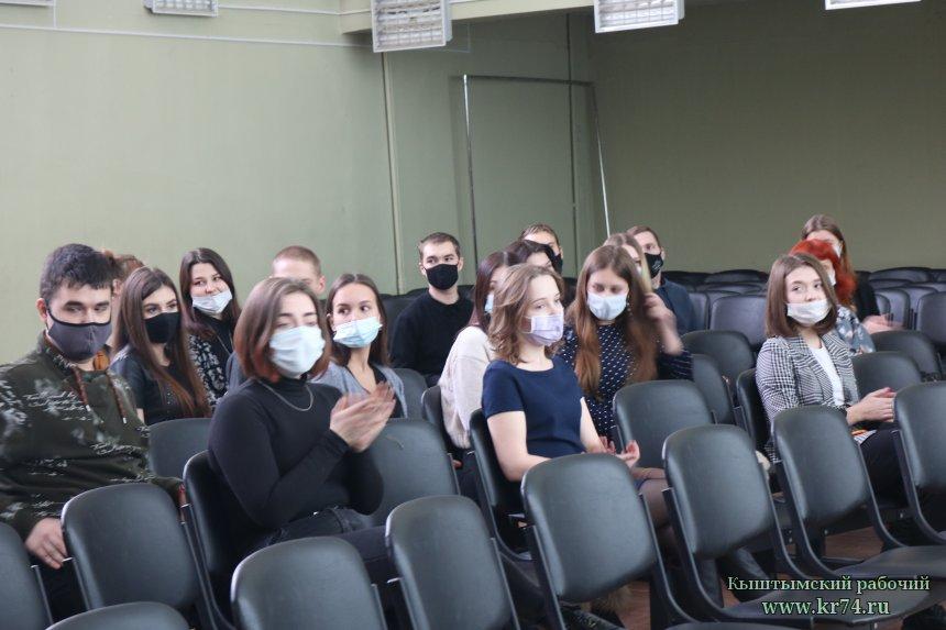 Глава округа Людмила Шеболаева встретилась со студенческим активом