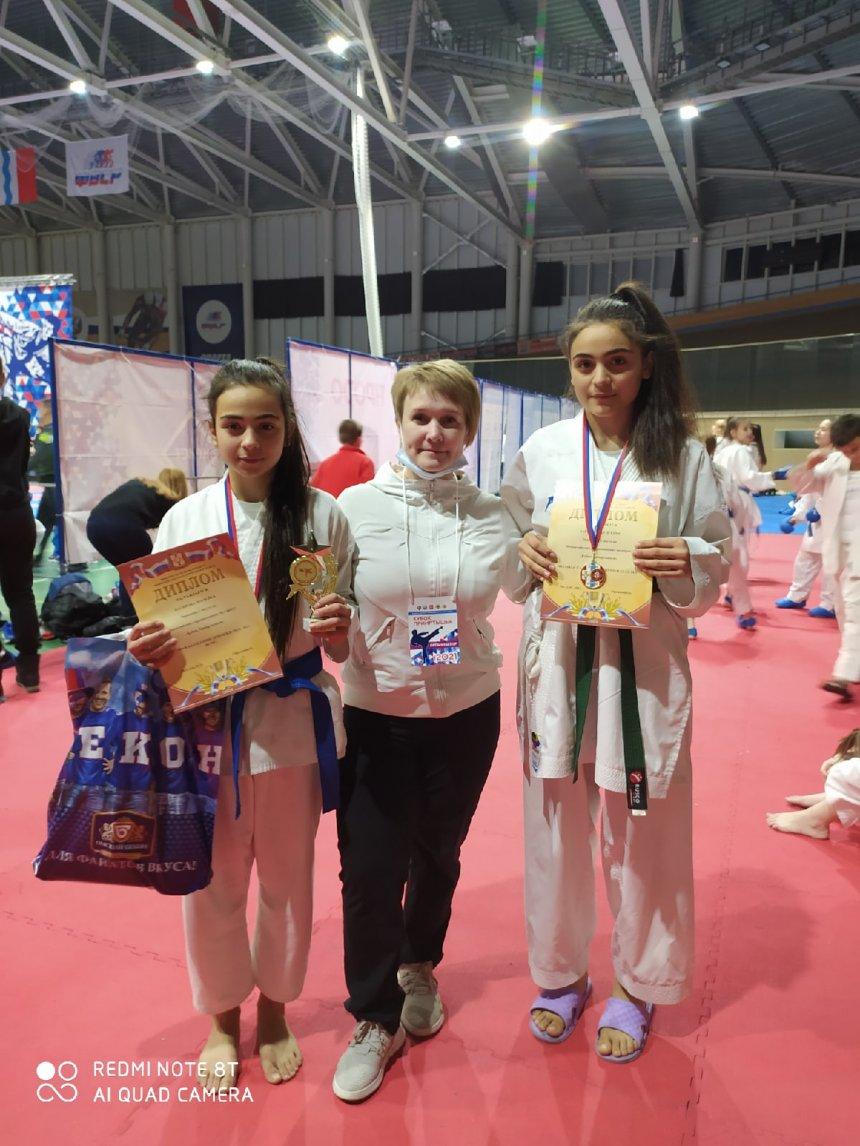 Кыштымская каратистка завоевала титул чемпионки