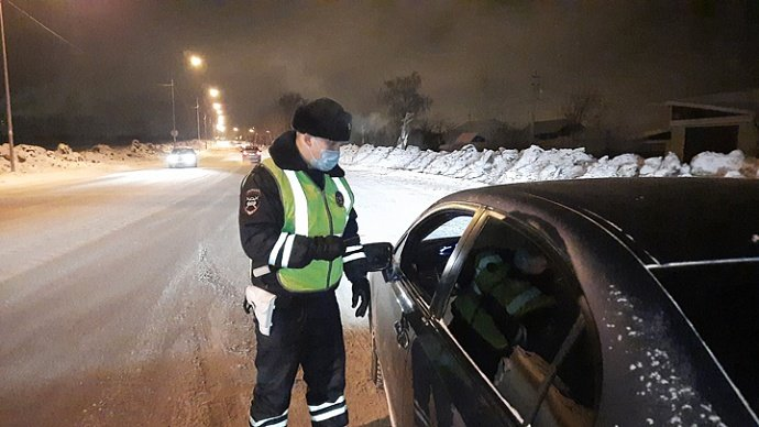 В Кыштыме сотрудники ГИБДД устроят рейд по выявлению пьяных водителей