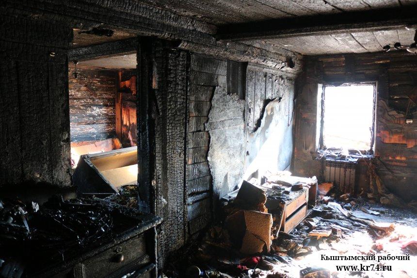 В Кыштыме пожар на улице Каслинской вылился в уголовное дело