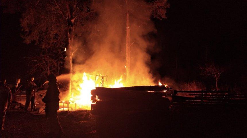 В Кыштыме продолжается счёт пожарам