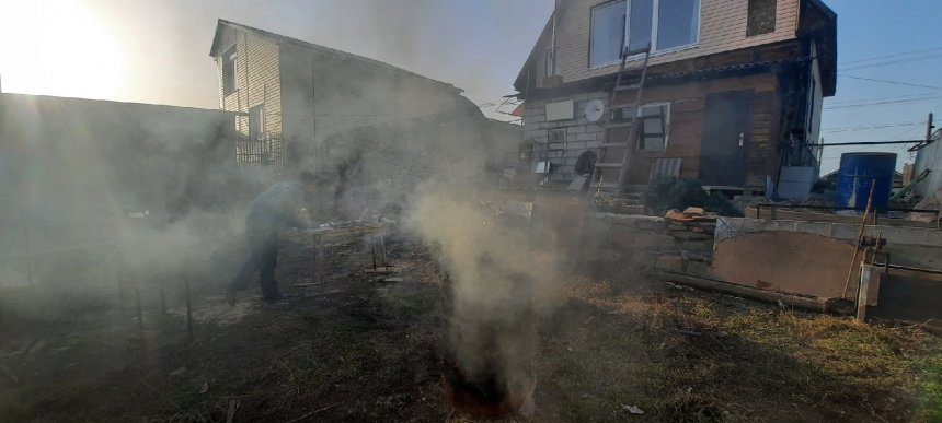 Жителю Кыштыма грозит штраф за сжигание мусора