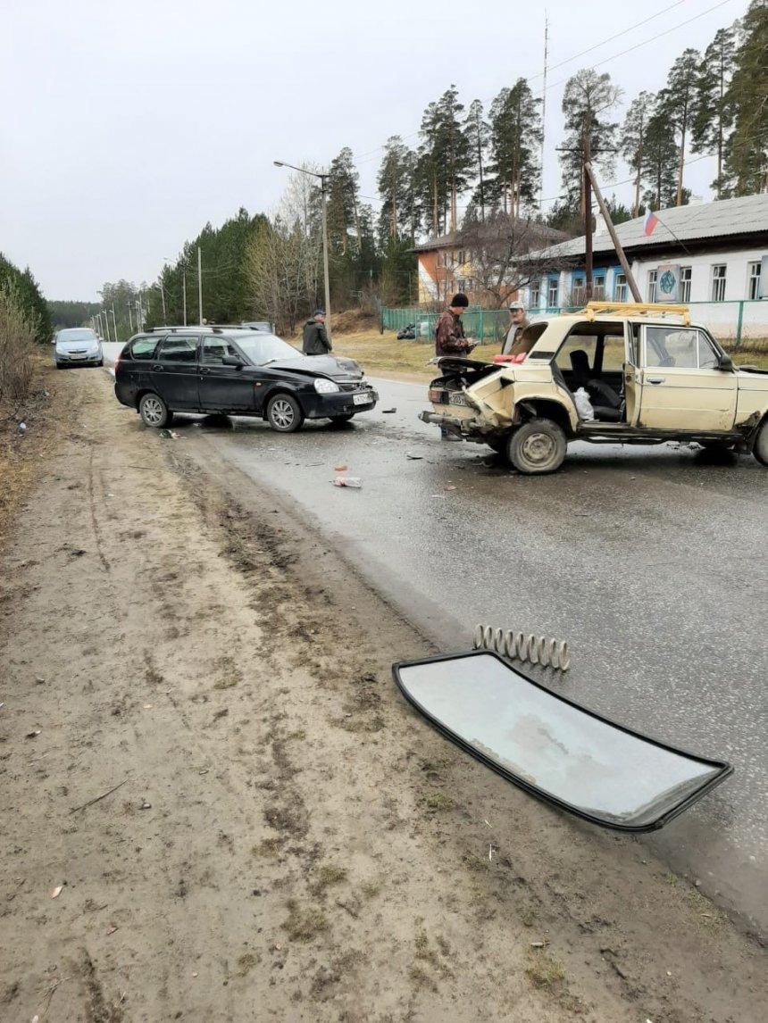 В Кыштыме произошло ДТП с участием трёх машин