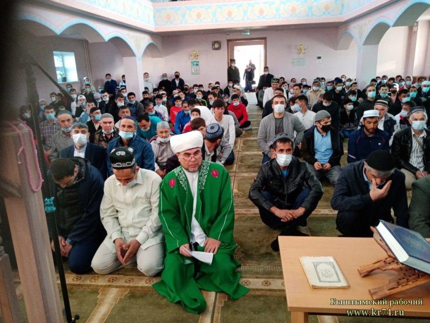 В кыштымской мечети на Уразу-байрам собралось более пятисот мусульман