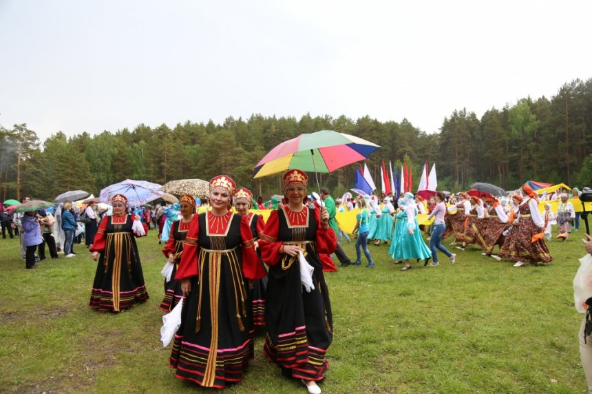 В Кыштыме на Сугомакской поляне вновь закружит «Русский хоровод»