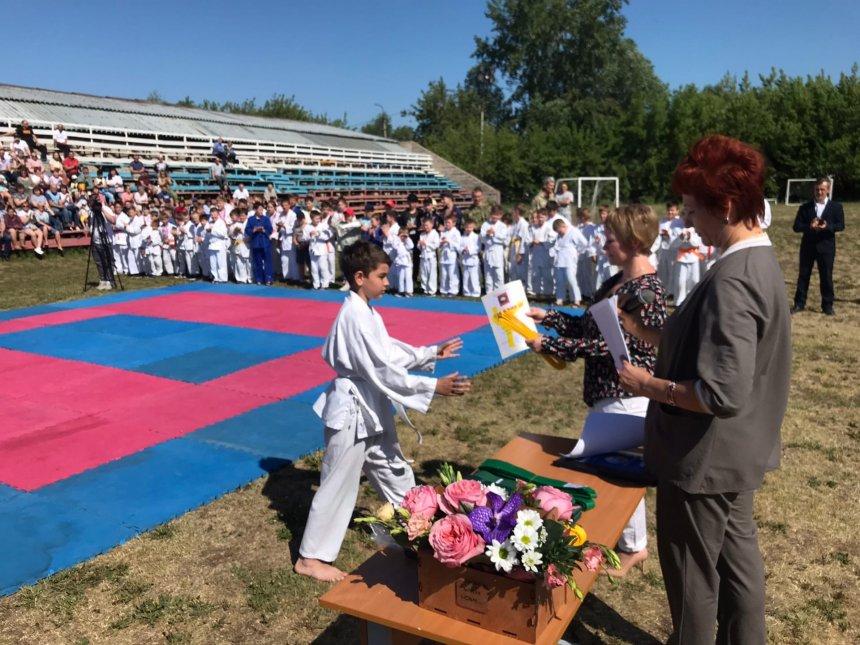 В кыштымской спортивной школе  «Инхело» завершился очередной спортивный сезон