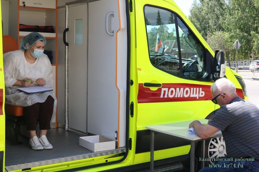 Более четырёх тысяч кыштымцев уже сделали прививки от коронавируса