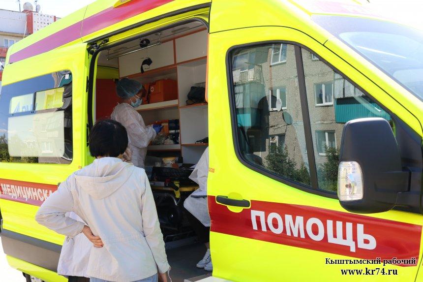 Жители Кыштыма могут поставить прививку от коронавируса по пути в магазин