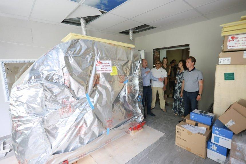 В Кыштыме готовится к открытию современный диагностический центр